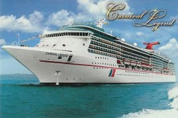Carnival Cruise Legend Cruise Ship