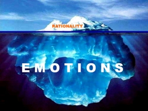 emotions versus rational and critical thinking
