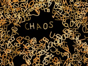 A chaotic environment is a sign that we're not a quintessential leader