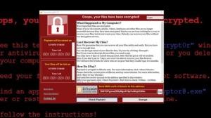 May 12, 2017 WannaCry Ransomware Attack